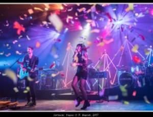 Carrousel à Vicques pour le vernissage de leur nouvel album : Filigrane