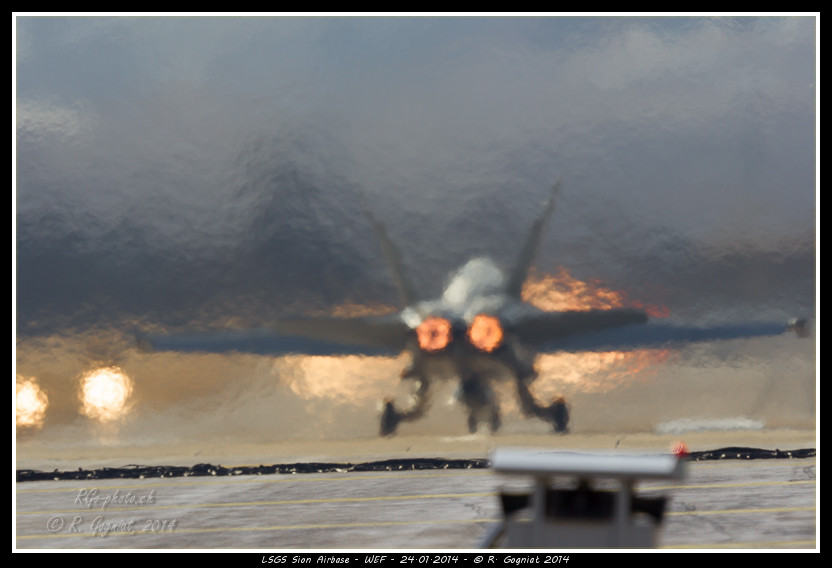Take off FA-18